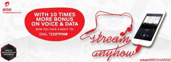 Airtel Free Data