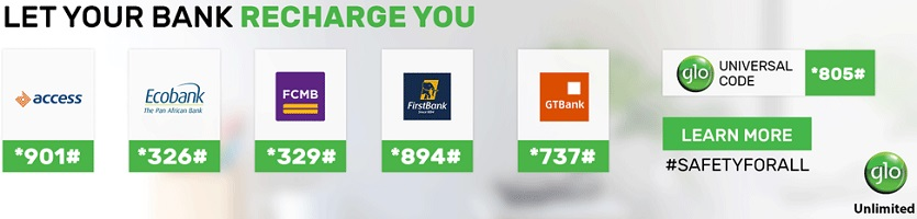 E Top up on Glo