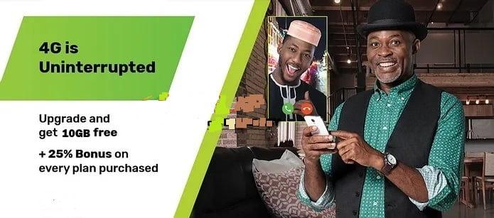 Glo 4G upgrade