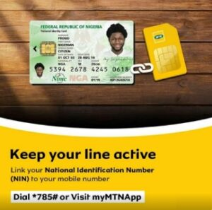 How to Link Your NIN to MTN