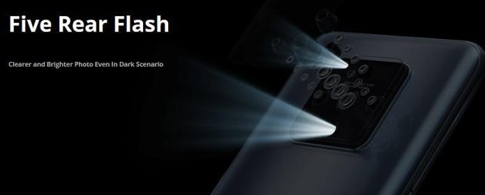 Tecno Camon 16 Premier Rear Flash light