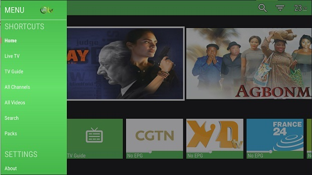 Glo TV Movie Channels