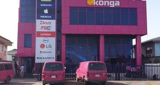 Konga Pick Up Stations