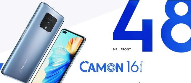 Camon 16 Premier Best Tecno Smartphones