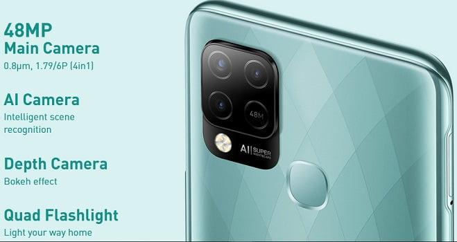 Infinix Hot 10S Rear camera